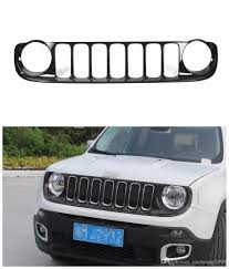 jeep front grill mesh grill front grille for jeep renegade 2015 2016 black cool