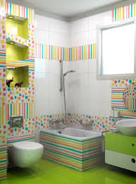 bathroom best ideas for decorating walls bathroom fresh colorful wall stickers light green floor and white cabinet small stripe