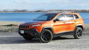 jeep cherokee black 2015 jeep cherokee trailhawk test drive review