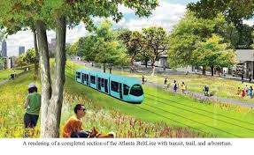 trees atlanta to plant a grass and wildflower meadow on the