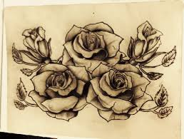 rose tattoo sketches pictures to pin on pinterest tattooskid