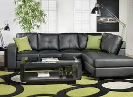 modern black leather sectional sofa alley cat themes