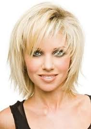 hairstyles for women over 40 straight hair bangs and layering