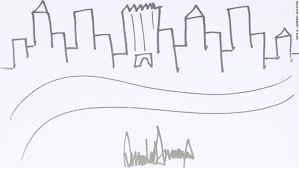 deal of the art trump u0027s nyc sketch pulls in nearly 30 000 fox40