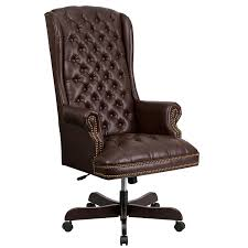 amazon com flash furniture high back traditional tufted brown