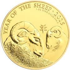 new year gold coins buy 2015 1 oz gold year of the sheep coins silver