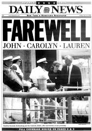john f kennedy jr is given a burial at sea in 1999 ny daily news