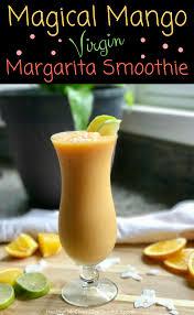 mango margarita magical mango virgin margarita smoothie no added sugar