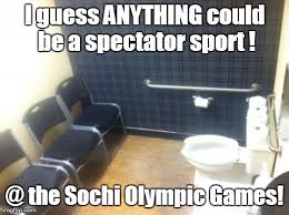Sochi Meme - an athletes tweeted pic from games imgflip
