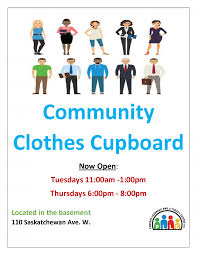 community clothes cupboard now open portage learning and