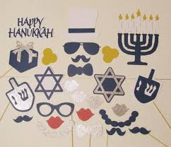 hanukkah party decorations photo booth props 26pc hanukkah party decorations chanukah photo