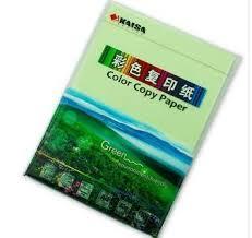 light green color copy paper a4 210 297mm 100 sheets pack