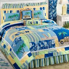 Coastal Themed Bedding Elegant Blue And White Beach Theme Comforter Bedding Set Of