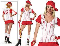 Halloween Baseball Costume Baseball Player Women Sports Halloween Costume