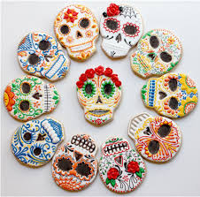 Decorate Halloween Cookies Sugar Skull Cookies These Cookies Might Be Worth The Time To Make