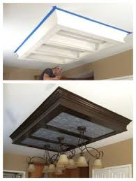 Fluorescent Lights For Kitchens Ceilings by Updating Fluorescent Lighting Kitchen Decor Pinterest