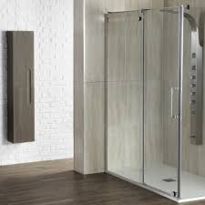 1200mm Shower Door Frontline Aquaglass Glide 1200mm Sliding Shower Door
