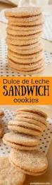 dulce de leche sandwich cookies with cinnamon and cardamom