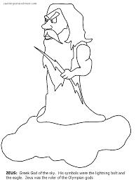 imagenes de zeus para dibujar faciles excelente dioses griegos para colorear ilustración dibujos para