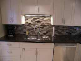glass tile backsplash kitchen glass tile backsplash kitchen modern with hardwood flooring in