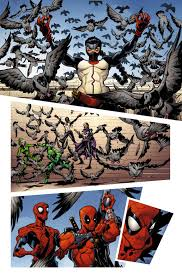 Uncanny First Look Same Mission More Deadpool Uncanny Avengers 1