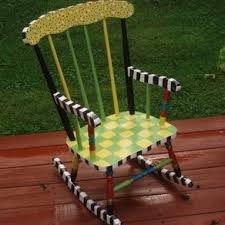White Childs Rocking Chair Custom Rocking Chairs Custommade Com