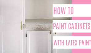 how to paint cabinets white without sanding how to paint cabinets with paint at home with