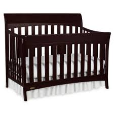 Convertable Crib Graco Rory 5 In 1 Convertible Crib Espresso Jcpenney