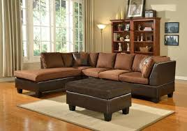 brown faux leather storage ottoman tag chocolate storage ottoman