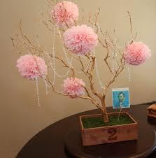 pink manzanita branch centerpieces diy weddingbee photo gallery