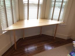 furniture furniture desk for bay window minimalist inspiring of furniture desk for bay window minimalist inspiring of bay window cushions the triangle shape hard maple material on wall mounted bay naturally designing