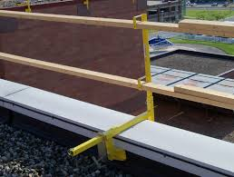 Temporary Handrail Systems Parapet Safety Guardrail Systems Versaclamp Bluewater
