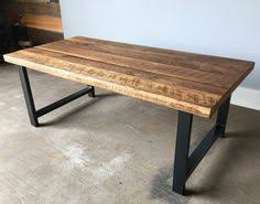 wood table with metal legs custom modern rustic table with steel and barn wood dun4me is the