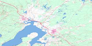 amherst map amherst nb free topo map 021h16 at 1 50 000