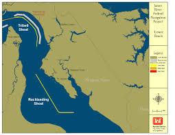 Map Of Norfolk Virginia by Norfolk District U003e About U003e Projects U003e James River Navigation
