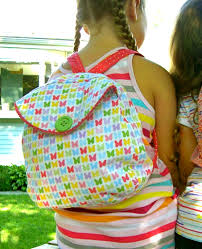kindergarten backpack pattern 20 diy backpack tutorials child and adult styles make it and