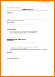 professor resume samples 16 fields related to psychology