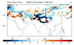 Lbl Map Black Carbon A Significant Factor In Melting Of Himalayan Glaciers