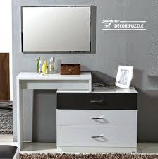 white contemporary dressing table modern white dressing table with mirror modern dressing table with