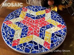 easy mosaic lazy susan hometalk