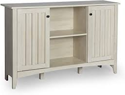 antique white kitchen storage cabinet lynslim console table with storage accent storage cabinet with doors for entryway living room adjustable shelf sofa table antique white