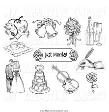 wedding bells rings images Valentine clipart of a black and white doves wedding bells a jpg