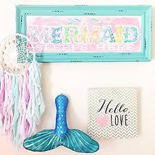 Mermaid Nursery Decor Mermaid Wall Decor Mermaid Nursery Decor Room