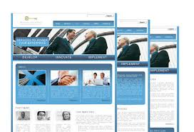 small business consulting web template pack from serif com