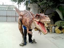 t rex costume dinosaur costume animatronic dinosaur factory from china