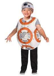 Star Wars Halloween Costumes Kids Star Wars Bb8 Droid Boys Toddler Costume Movie Costumes