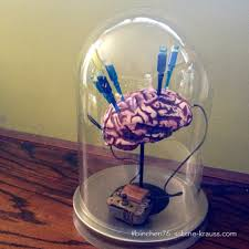 diy mad scientist lab prop this would look great with a