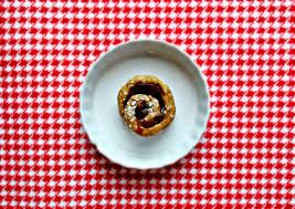 raw vegan single serving cinnamon roll baking backwards