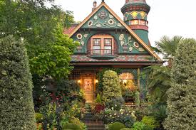 queen anne victorian home plans quirky homes show their true colors wsj