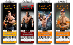 sample birthday invites wrestling birthday invitations wwe birthday party invitations